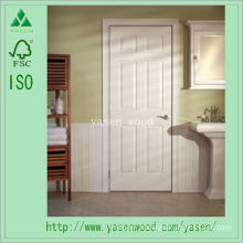 White Primed Interior Composite Wooden Door